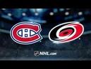 Montreal Canadiens vs Carolina Hurricanes Mar 24 2019 Game Highlights NHL 2018 19 Обзор матча