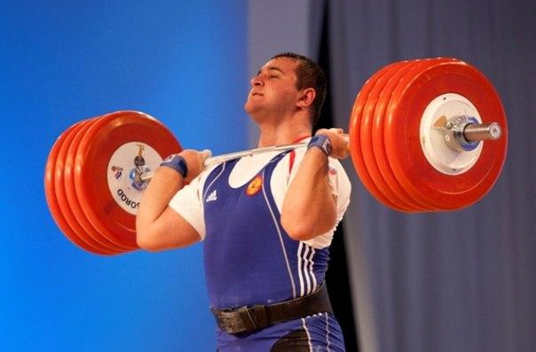 Триумф Российских тяжелоатлетов