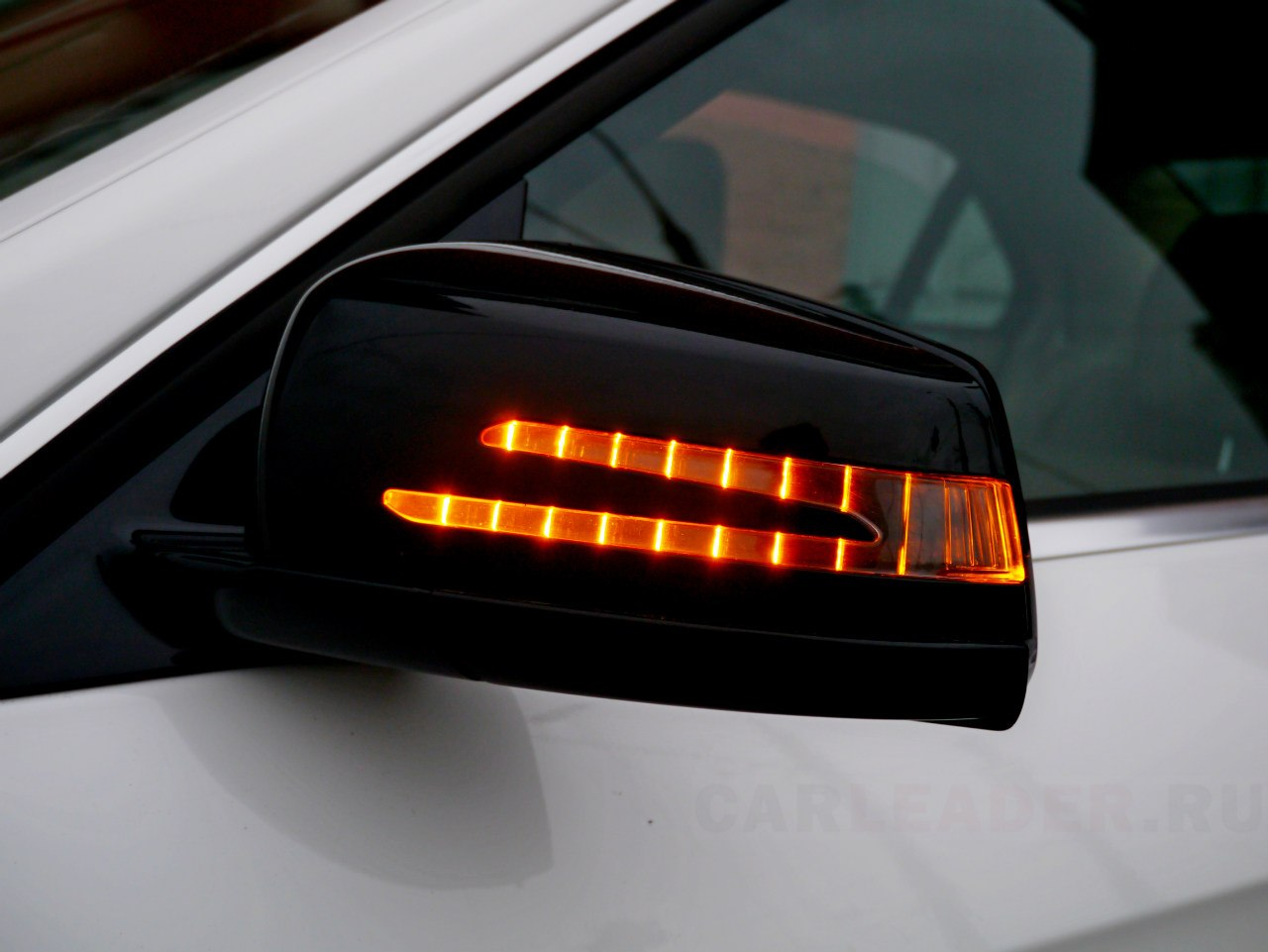 Диодные зеркала Mercedes E 2014