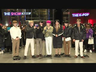 [vk][190226] monsta x interview @ the show work out live