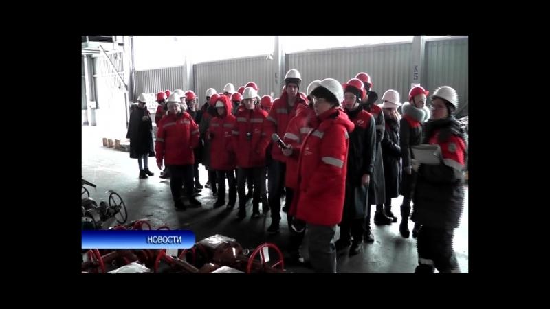Экскурсия для школьников из Уфы на АО БАЗ
