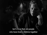 Bergman, Hour of the Wolf (Vargtimmen) - Alma speaks about old couples