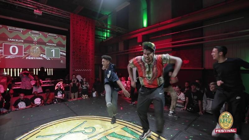 HipHop Kingz Festival 2018 Sarcellite FR vs Pigeons NL FINAL Crew battle