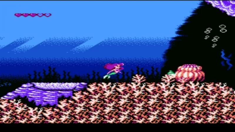 Увеселительные обзоры PSX игр: сборник NES. 20 серия - Disney's The Little Mermaid.