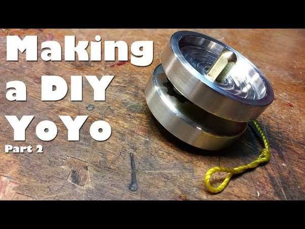 2 2 Making a Custom DIY YoYo on the Mini Lathe the axle etching assembly