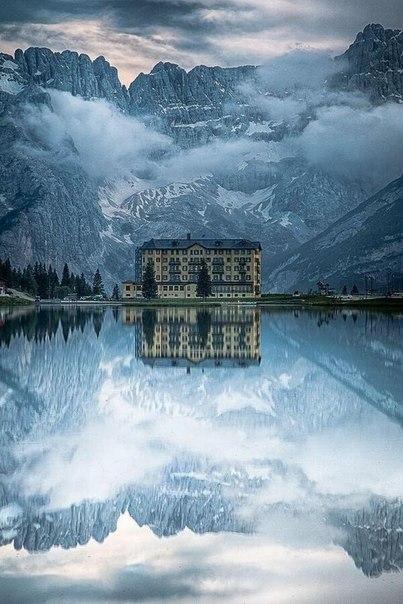 Озеро Мизурина, Италия