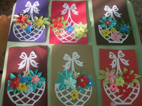 Поделки ко дню матери в детском саду своими руками из бисера