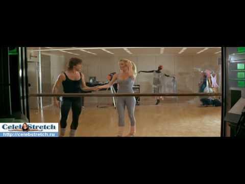 Www celebstretch ru Flexible Kim Basinger stretching and doing split