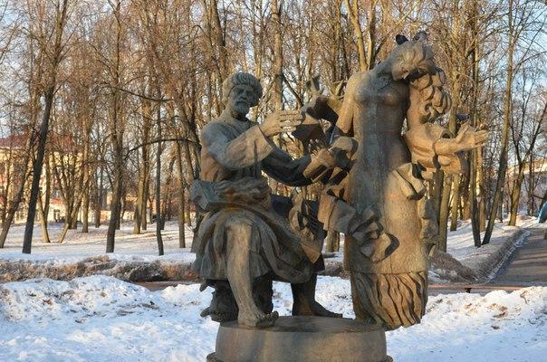Новгородский купец Садко и девица Чернавушка