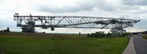 F60 - самый большой в мире транспортно-отвальный мост