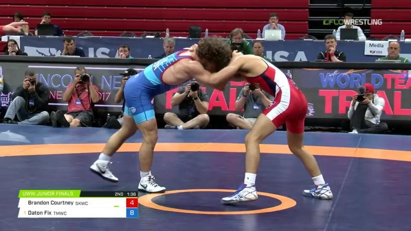 55 Round 2 - Brandon Courtney (Sunkist Kids WC) vs. Daton Fix (TMWC)