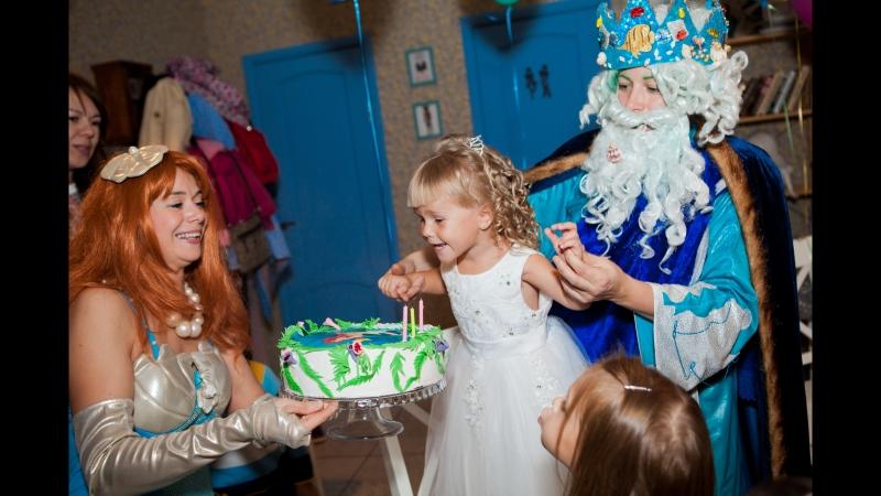 У самого синего моря кукольный спектакль для детей от 2 до 10 лет