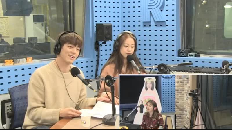 181017 Хо Ёнджи и Kim Mingyu на SBS Power FM Park Sohyun's Love Game