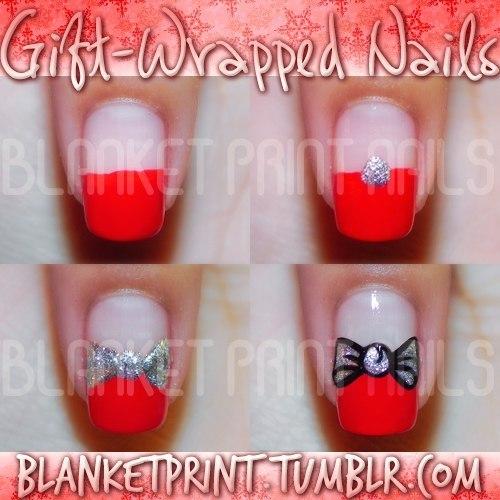 Пошаговые фото дизайна ногтей лаком
