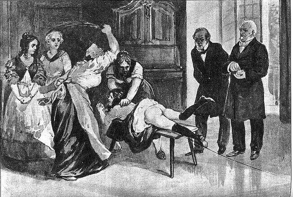 Наказание рабынь розгами и плетью