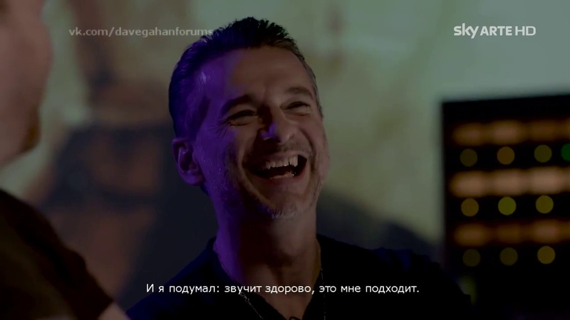 Dave Gahan and Soulsavers on Sky Arte [russian subtitles]