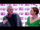 Альбина Джанабаева и Валерий Меладзе Дорожка премии Ru TV