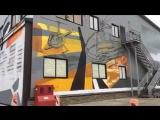 Граффити это искусство, а не вандализм 2. Heliporte Moscow.Skyprojectra, Architesta.Спасибо за трек Matami.