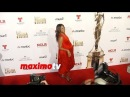 Zoe Saldana Baby Bump | 2014 NCRL ALMA Awards | Red Carpet