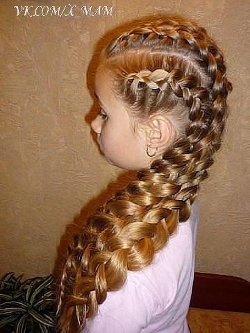 Вот это коса! 😃
