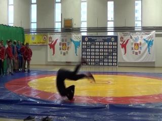 День борьбы 9.10.18 акробатика и разминка