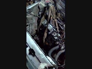 Замена двигателя ч3