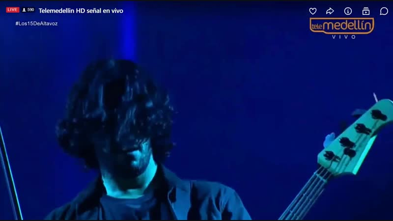 PapaRoach - Between Angels Insects | Live at Altavoz Festival Medellin