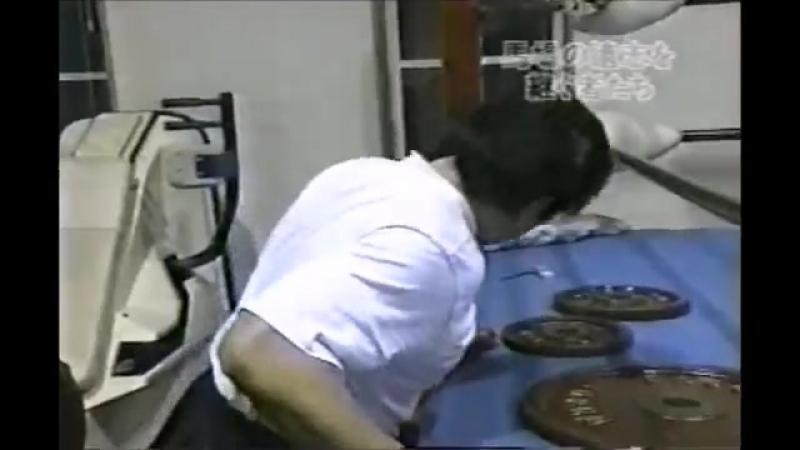 1999年2月13日後楽園ホール大会での三沢光晴・百田光雄両選手の挨拶など