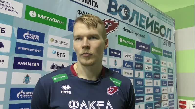 Артур Удрис прокомментировал победу над Ярославичем в 4 туре Суперлиги