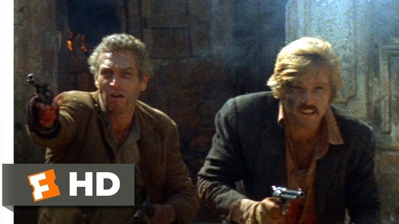 Butch Cassidy and the Sundance Kid (1969) - Blaze of Glory Scene (55)   Movieclips