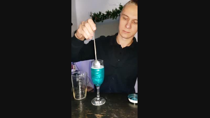 Шампанское с блёстками в сети городских кафе Самурай