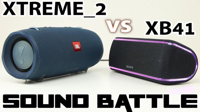 JBL XTREME 2 vs SONY SRS XB41 Sound Battle