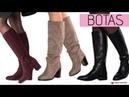 MODA en BOTAS Tendencias Zapatos Otoño Invierno 2018 2019 de caña alta y baja con tacón o planos