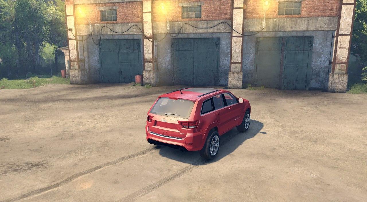 Jeep SRT 8 для Spintires - Скриншот 3