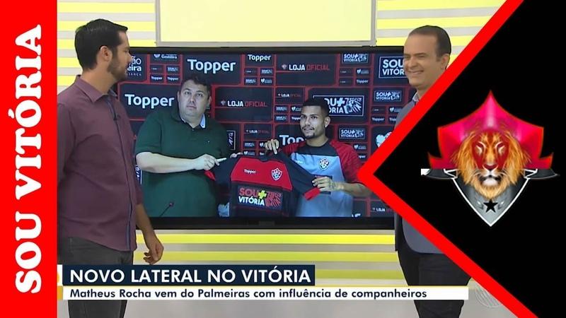 Vitória apresenta novo lateral direito que vem do Palmeiras