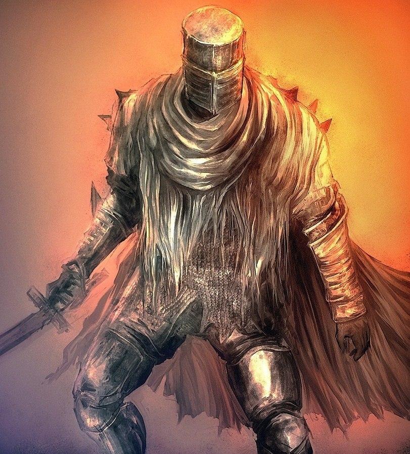 Dark Souls fan-art J2t0MIjPgCE