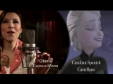 Let it go Multilanguage - Behind the mic [Recording the song].mp4