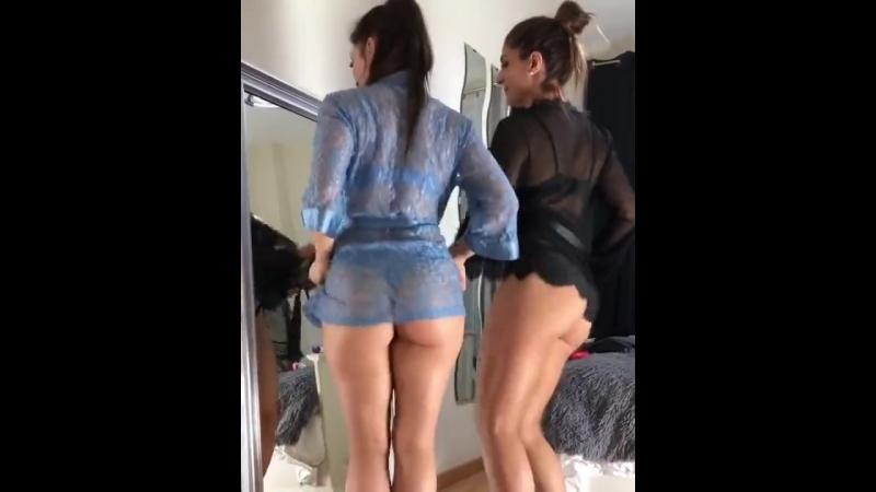 Neiva Mara две горячие мулатки трясут своими шикарными сочными булками, секс большие жопы латиночки не порно big juicy ass booty