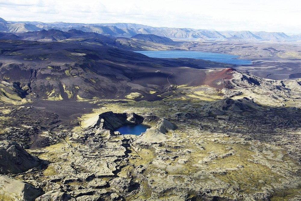 Аэрофотосъёмка: Исландия, 2012 год