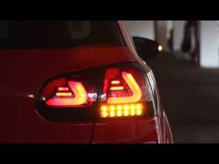 VW Golf 6 Dectane CARDNA LED Rücklicht
