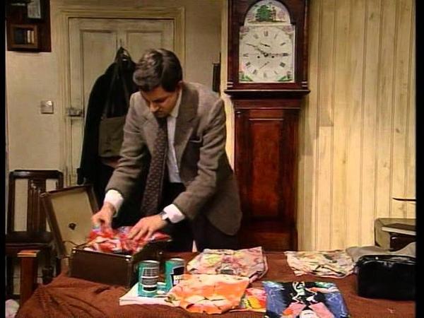 Мистер Бин собирает чемодан