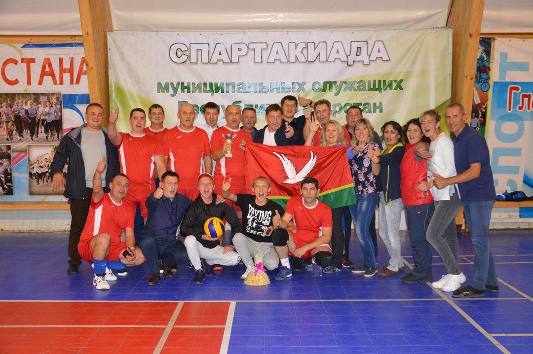 В Буинске состоялись соревнования по волейболу в рамках Спартакиады муниципальных служащих РТ