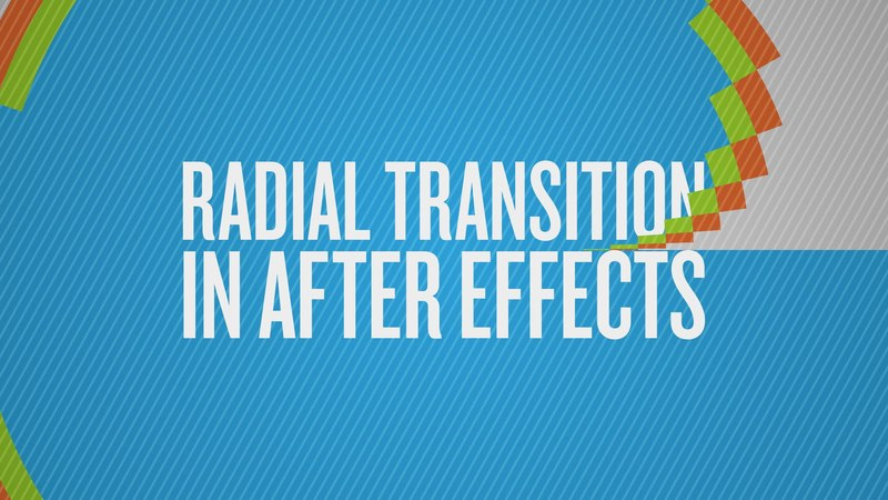 How To Create a Radial Transition in After Effects