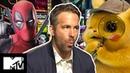 Ryan Reynolds on Detective Pikachu vs Deadpool vs X-Force MTV Movies