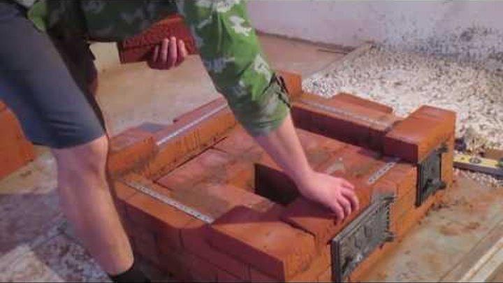 Подробная кладка печи 3 5х3 5 кирпича за 10000 руб