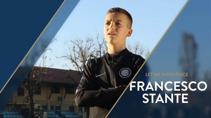 LET ME INTRODUCE... FRANCESCO STANTE! | INTER UNDER 14 with Cristian Chivu