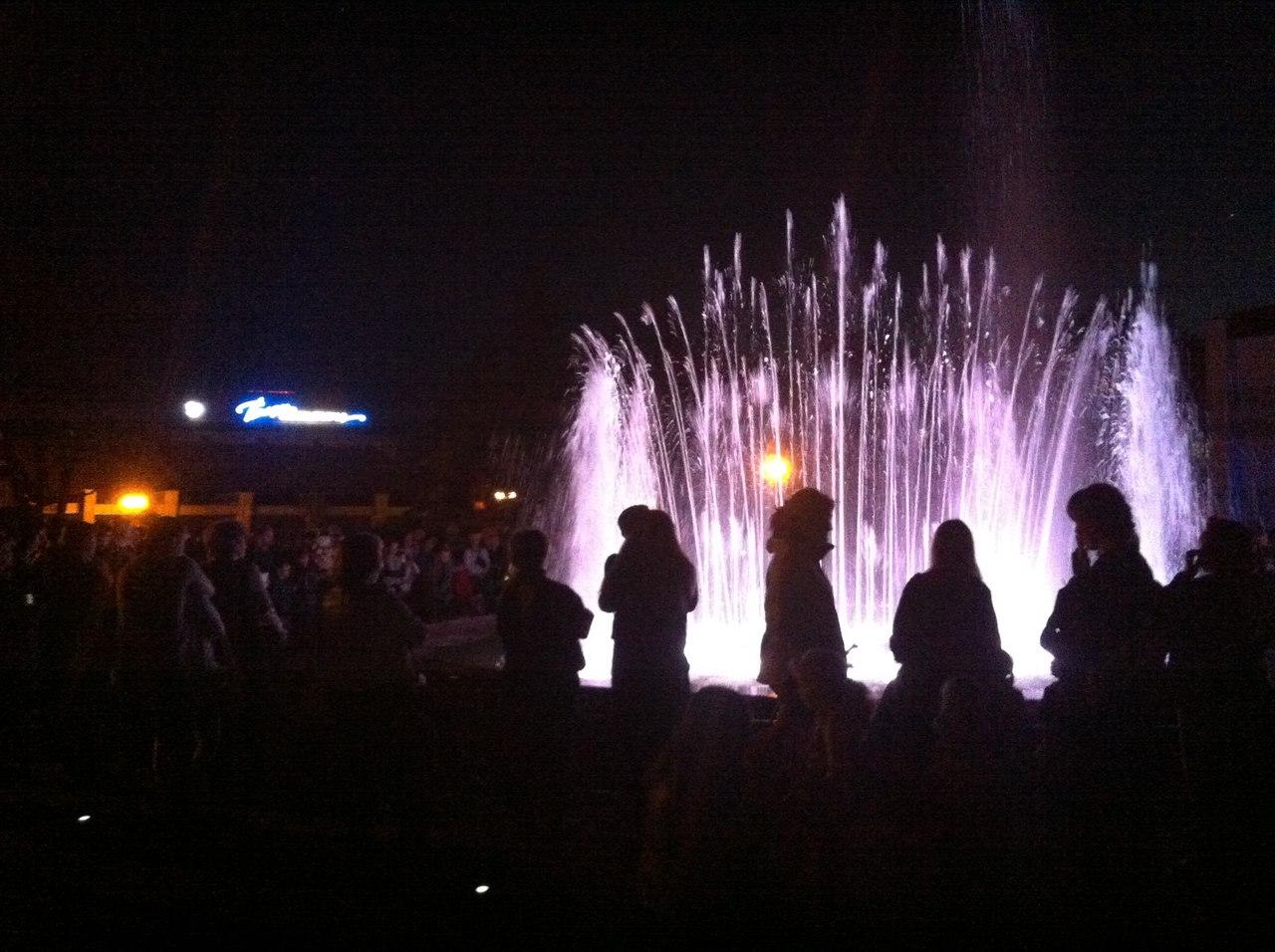 Співаючий фонтан в Миргороді