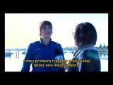 Интервью для португальского телевидения о сериале На грани