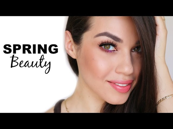 SPRING MAKEUP using all Natural Products | Natural Bold Beauty | Eman