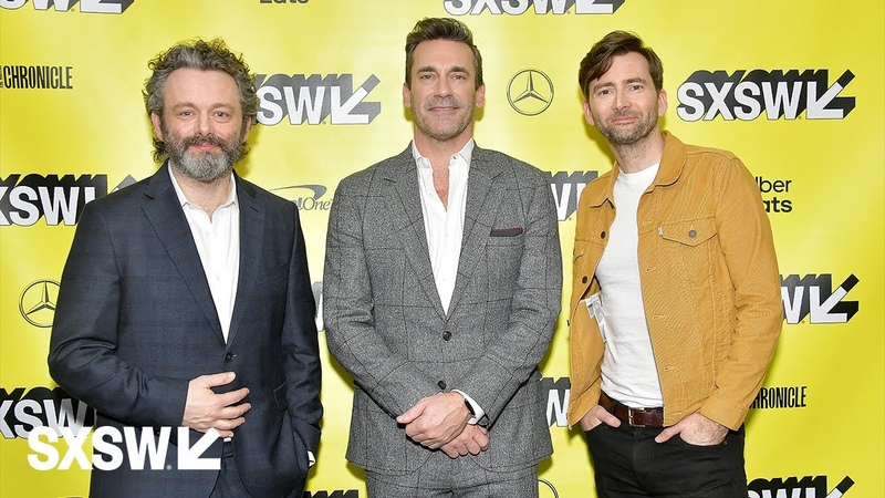 Neil Gaiman, Michael Sheen, David Tennant, Jon Hamm, and More On Good Omens   SXSW 2019